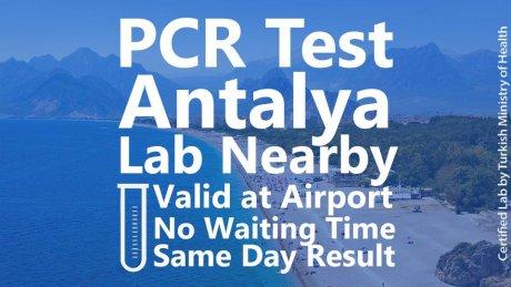 PCR Test Antalya - 1