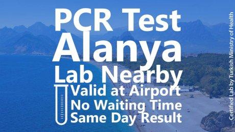 PCR TEST in Alanya - 1