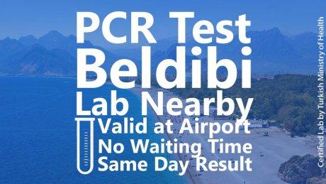 PCR TEST in Beldibi - 1
