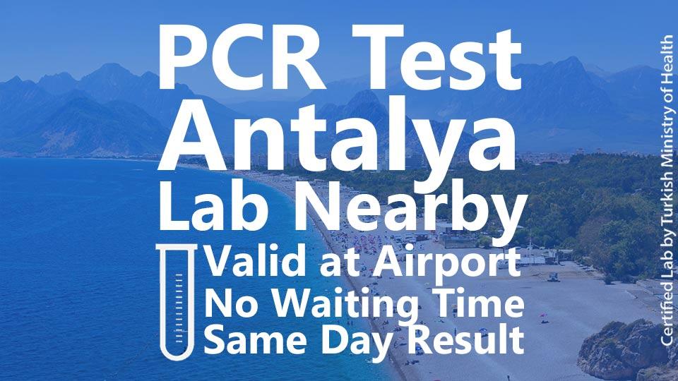 PCR Test Antalya