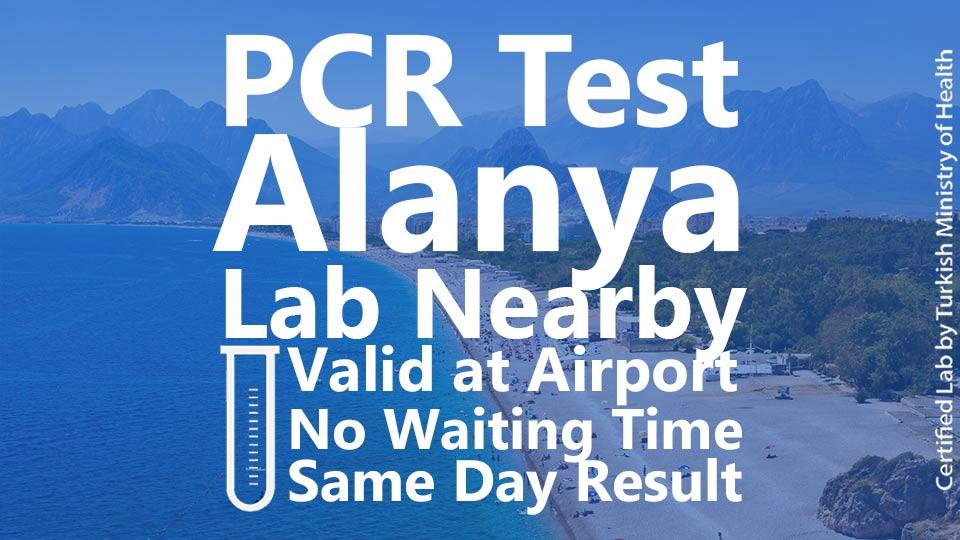 PCR TEST in Alanya