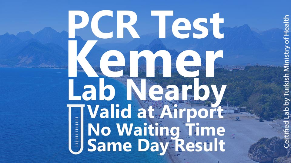 PCR TEST in Kemer