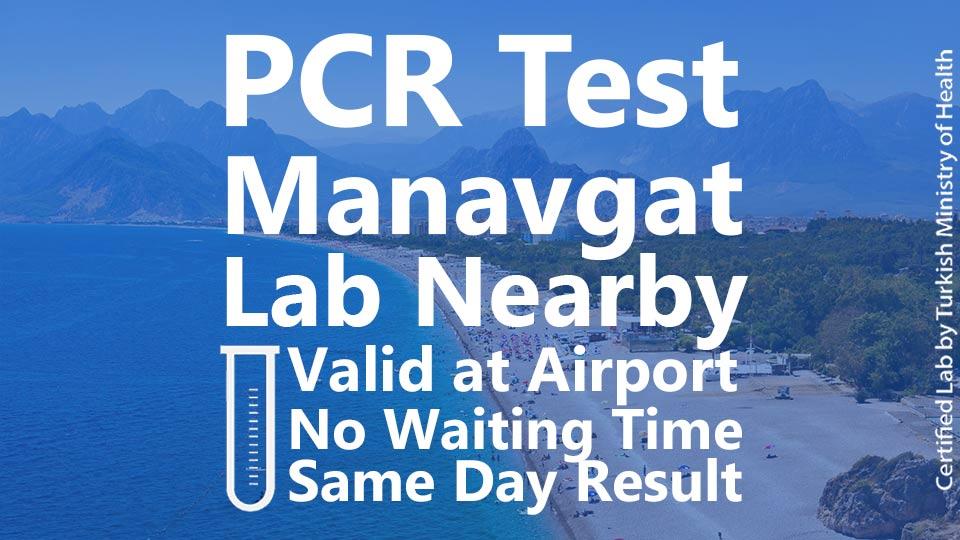 PCR TEST in Manavgat