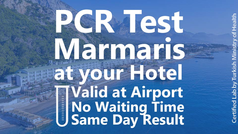 PCR TEST in Marmaris Hotels