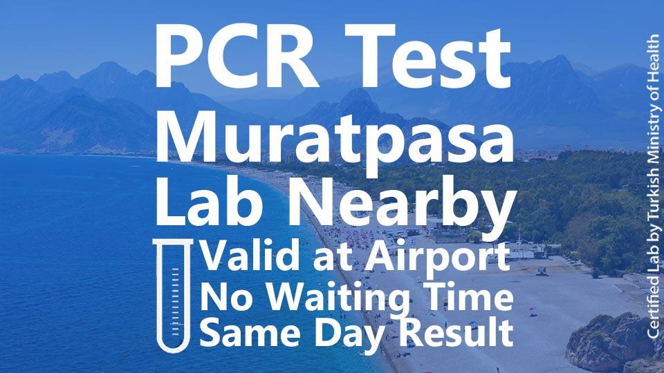PCR TEST in Muratpasa